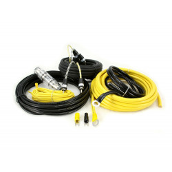 KIT CABLES 10mm INSTALACION AMPLIFICADOR HOLLIWOOD CCA28